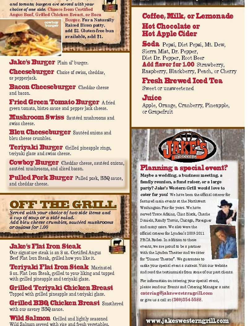 Jakes Western Grill